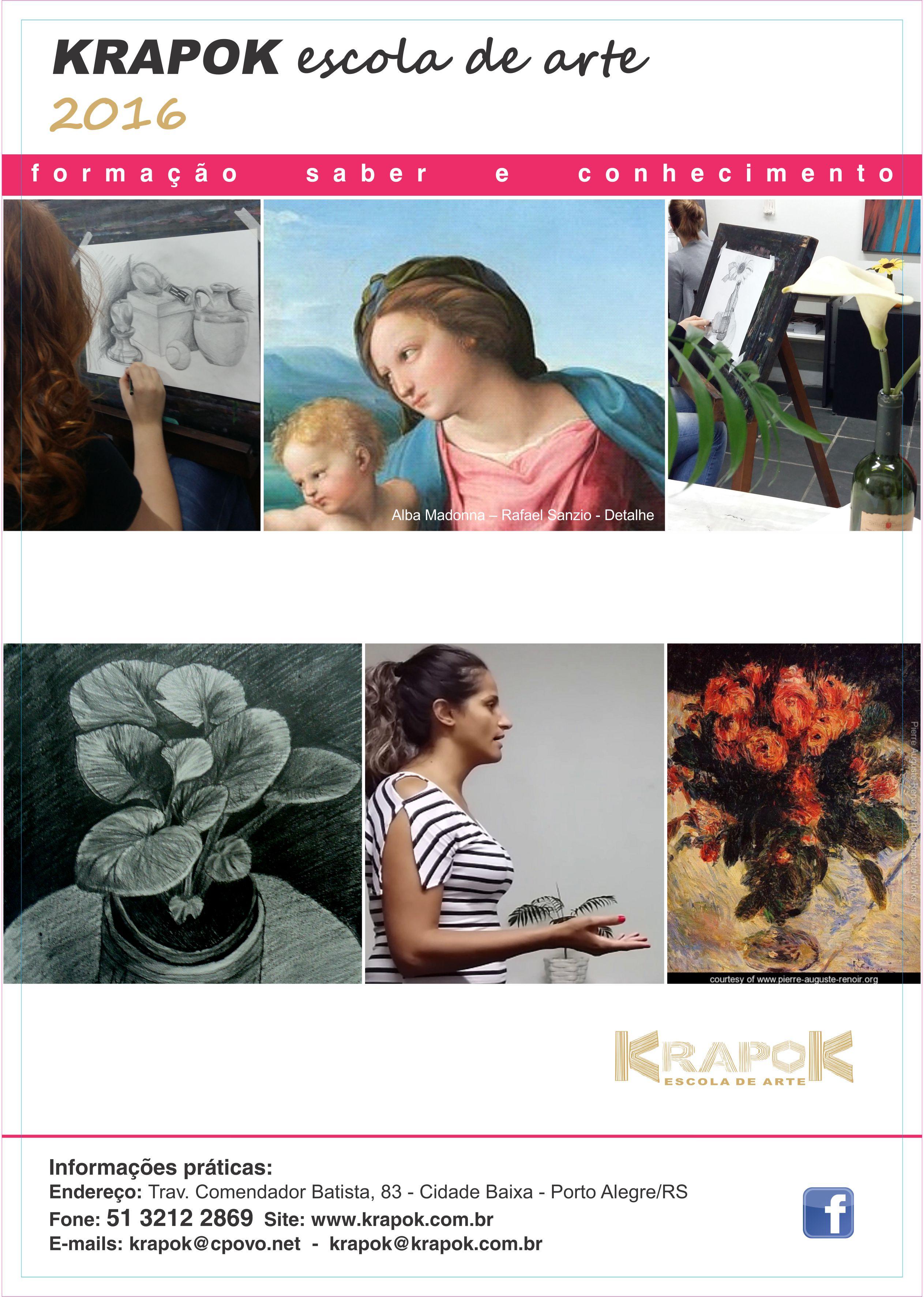 Cursos de Arte em Porto Alegre KRAPOK 2016