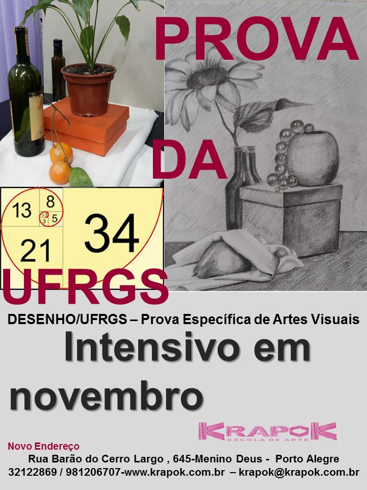 Desenho/UFRGS Curso da Krapok Escola de Arte