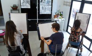 Cursos de Desenho e Pintura - Krapok Escola de Arte POA