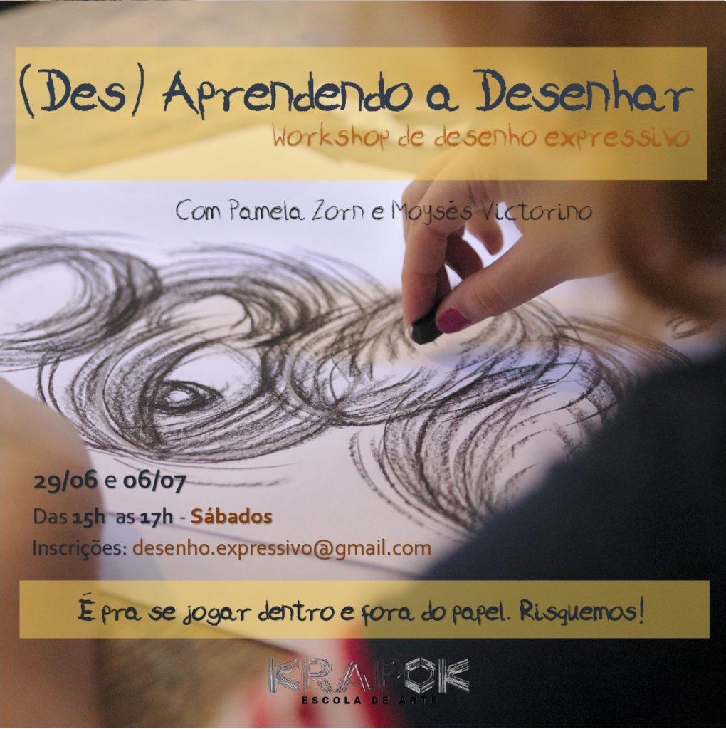 Workshop de Desenho KRAPOK Escola de Arte POA
