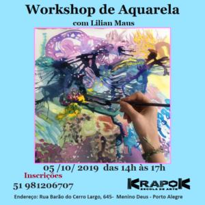 Aquarela em Porto Alegre