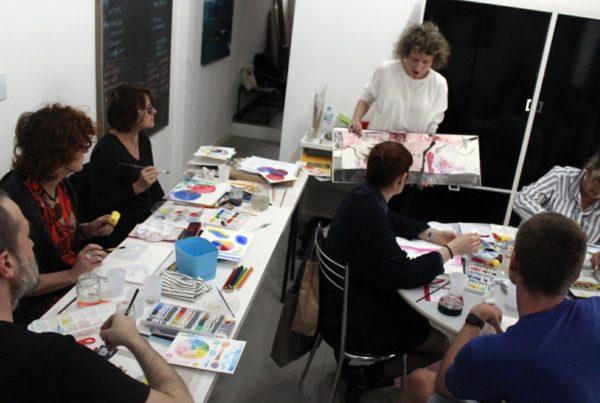 Workshop de Aquarela em POA