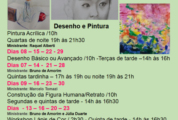 KRAPOK Desenhos e Pintura em janeiro 2020 POA