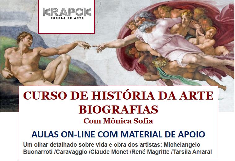 Curso on-line Biografias 5 Grandes Artistas