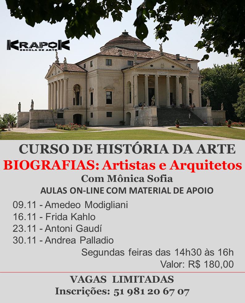 Curso de História da Arte em POA