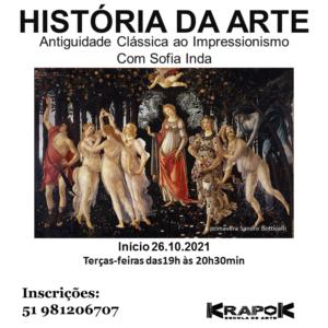 Curso de História da Arte em Porto Alegre KRAPOK